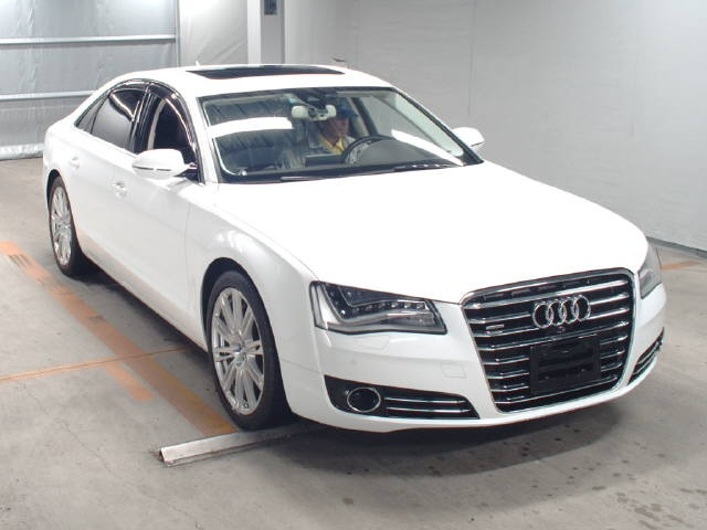 Buy used AUDI A8 at Japanese auctions