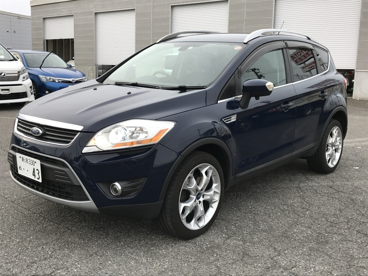 Buy used FORD KUGA at Japanese auctions