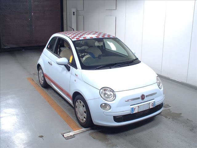 Buy used FIAT 500 at Japanese auctions